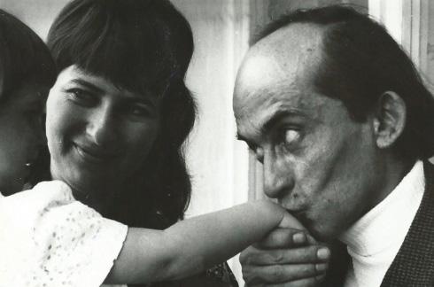 Z żoną Elżbietą i córką Anną, fot. autor nieznany